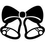 """Переводная татуировка """"Рождественские колокольчики"""""""