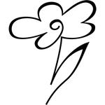 """Временная татуировка """"Цветок"""""""