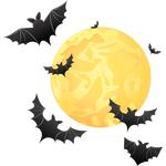 """Переводная татуировка """"Хэллоуин"""""""