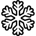 """Переводная татуировка """"Снежинка"""""""