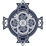 """Переводная татуировка """"Кельтский орнамент"""""""