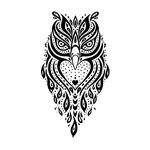 Черная сова