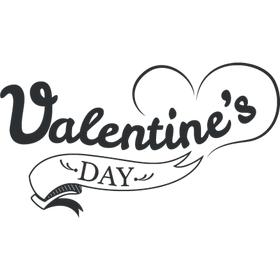 """Переводная татуировка """"Valentine's day"""""""