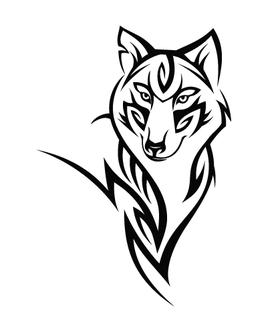 Волк трайбл